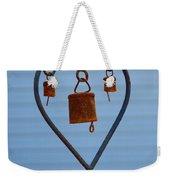 Rusty Heart 1 Weekender Tote Bag