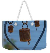 Rusty Heart 3 Weekender Tote Bag