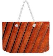 Rusty Hood Louvers Weekender Tote Bag