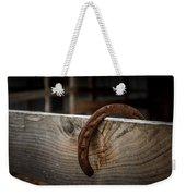 Rusty Horseshoe Weekender Tote Bag