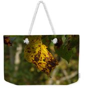 Rusty Leaf Weekender Tote Bag