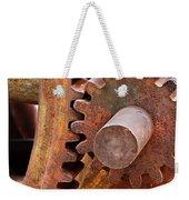 Rusty Metal Gears Weekender Tote Bag