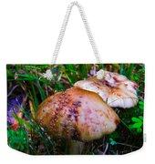 Rusty Mushroom Weekender Tote Bag