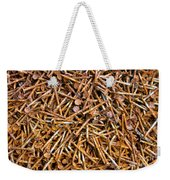 Rusty Nails Abstract Art Weekender Tote Bag