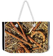 Rusty Nails Weekender Tote Bag