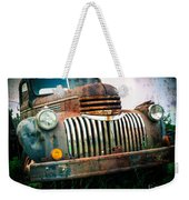 Rusty Old Chevy Pickup Weekender Tote Bag