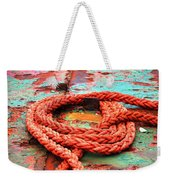 Rusty Old Ship Weekender Tote Bag