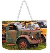 Rusty Old Trucks Weekender Tote Bag