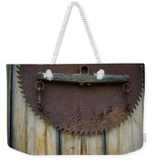 Rusty On The Wall Weekender Tote Bag