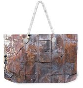Rusty Plate Door 2 Weekender Tote Bag