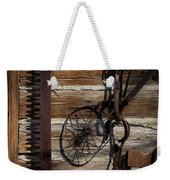 Rusty Shades On A Chinked Wall Weekender Tote Bag