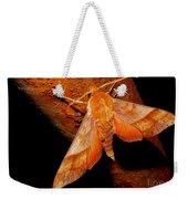 Rusty Sphinx Moth Weekender Tote Bag