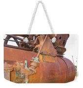 Rusty Steam Tractor Weekender Tote Bag