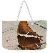 Rusty Tipped Page Butterfly Weekender Tote Bag