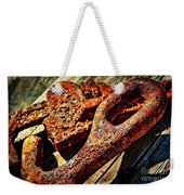 Rusty Tools I With Texture Weekender Tote Bag