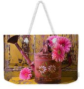 Rusty Watering Can Weekender Tote Bag