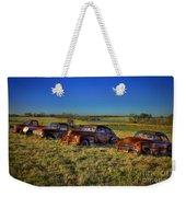 Rusty Westward Line Up Weekender Tote Bag