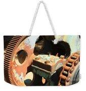 Rusty Wheel Gear Weekender Tote Bag