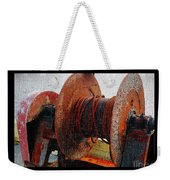 Rusty Winch  Weekender Tote Bag