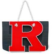 Rutgers Block R Weekender Tote Bag