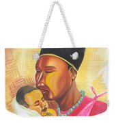 Rwandan Maternal Kiss Weekender Tote Bag