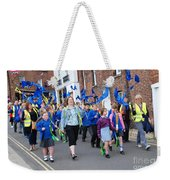 Rye Olympic Torch Parade Weekender Tote Bag