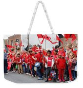 Rye Olympic Torch Relay Weekender Tote Bag