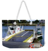 Ryer And Grand Island Ferry Weekender Tote Bag
