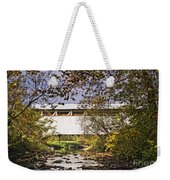 Ryot Covered Bridge And Stream Weekender Tote Bag