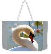 S Is For Swan Weekender Tote Bag
