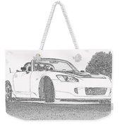 S2000 Sketch Weekender Tote Bag