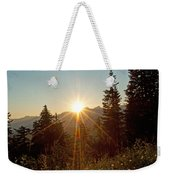 Sabbath Sunset Weekender Tote Bag