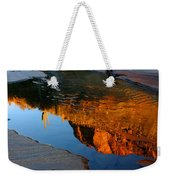 Sabino Canyon Reflection Weekender Tote Bag