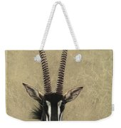 Sable Weekender Tote Bag by James W Johnson