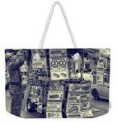 Sabrett Vendor New York City Weekender Tote Bag