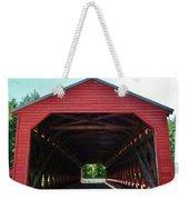 Sachs Covered Bridge 3 Weekender Tote Bag