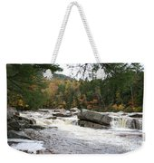 Saco River Rapids North Conway I Weekender Tote Bag
