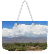 Sacramento Mountains Storm Clouds Weekender Tote Bag by Jack Pumphrey