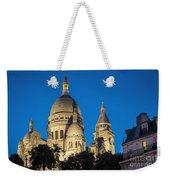 Sacre Coeur - Night View Weekender Tote Bag
