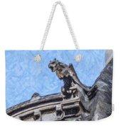 Sacre Coeur Gargoyle Weekender Tote Bag
