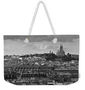 Sacre Coeur Over Rooftops Black And White Version Weekender Tote Bag