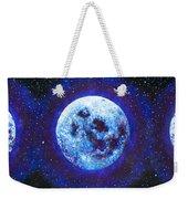 Sacred Feminine Blue Moon Weekender Tote Bag