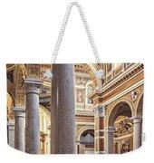 Sacred Heart Of Jesus Church Rome Italy Weekender Tote Bag