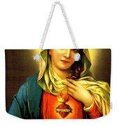 Sacred Heart Weekender Tote Bag