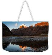 Sacred Mountain In Tibet - Mount Kailash Weekender Tote Bag