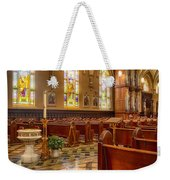 Sacred Space - Our Lady Of Mt. Carmel Church Weekender Tote Bag