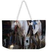 Sad Horse Weekender Tote Bag