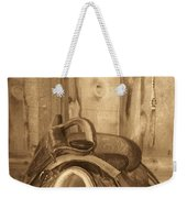 Saddle Weekender Tote Bag
