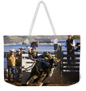 Saddle Bronc Riding Competition Weekender Tote Bag
