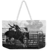 Saddle Bronc Riding Weekender Tote Bag